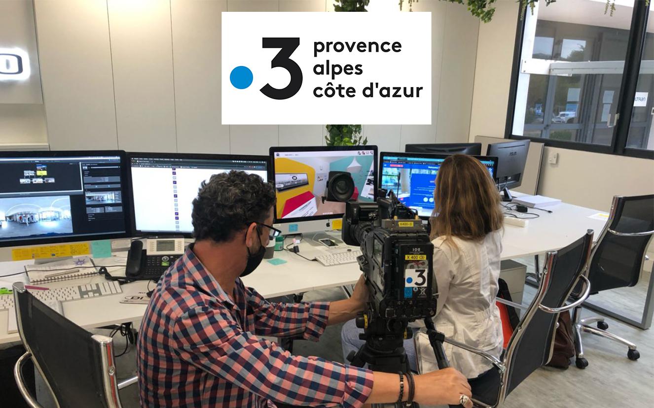 reportage de France3 côte d'azur